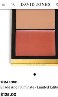NEW & AUTH EXCLUSIVE TOM FORD CHEEK + HIGHLIGHTER