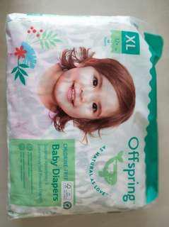 Fashion tape diaper size XL