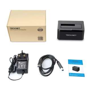 (BNIB) TECKNET USB 3.0 Hard Drives Docking Station (Brand New Boxed)