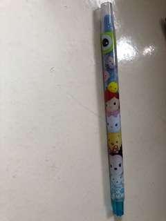 Tsum Tsum 藍色顏色筆 蠟筆