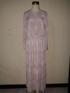 Longdress pakaian wanita murah bahan adem