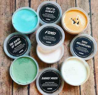 Lush Jelly Face Mask