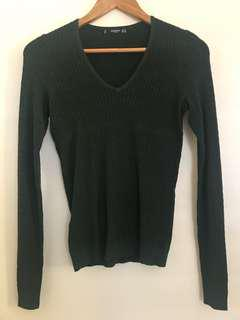 MANGO Emerald Green Knitwear