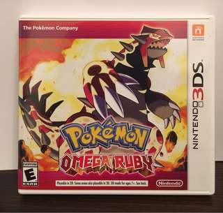[3DS] Pokémon Omega Ruby - US VERSION (美版)