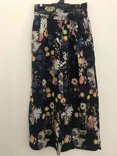 ZARA Floral Culottes