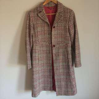 Jigsaw pastel coat