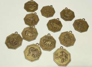 Chinese Zodiac Charms Pendant