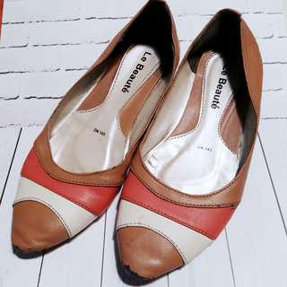 Flat Shoes Orange