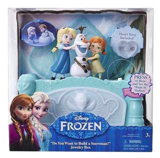 BNIB Disney Frozen Musical Jewelry Box