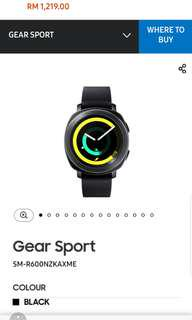 Gear Sport ORIGINAL SAMSUNG (New)