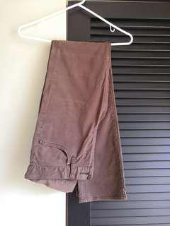 Uniqlo Brown Long Pants
