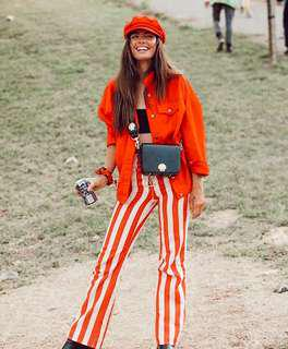 Jagger and Stone Thelma Striped Pant