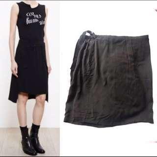 Ann Demeulemeester Black Skirt Dem 黑色半截裙