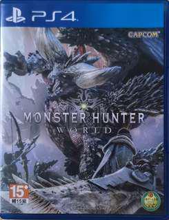 🚚 PS4~魔物獵人世界亞洲版!!