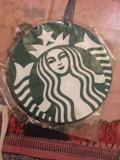 Starbucks rubber coaster