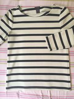 Ann Taylor striped blouse