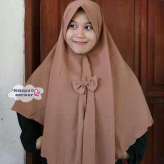 Jilbab aisha belah pita