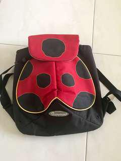 """USED SAMMIES BY SAMSONITE KIDS BAGPAK, LADYBIRD, MINT CONDITION RARELY USED, FAST DEAL """"$20.00"""" NEGOTIABLE"""