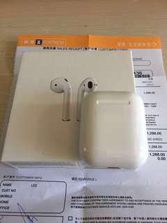Apple AirPods 行貨 99% New