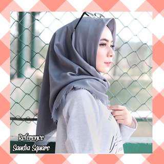 Jilbab segiempat saudia