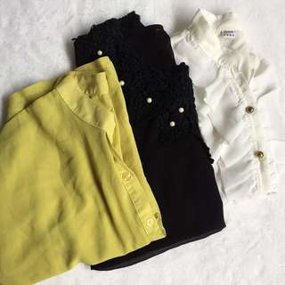 3pcs Tops for Women