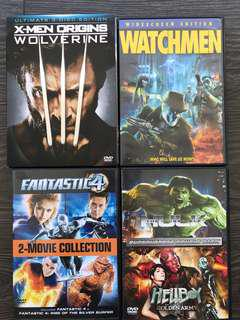 DVD - 6 action movies
