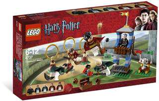Lego 4737 Quidditch Match