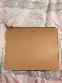 Mon purse beige medium size clutch RRP $100