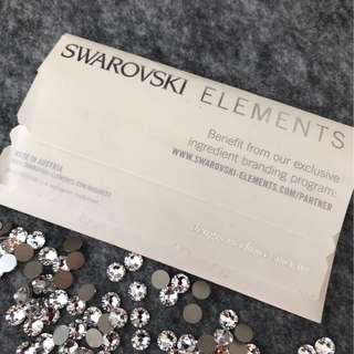 Swarovski 散裝水晶閃石(1包360粒)
