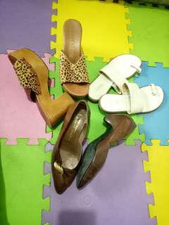 take all size 7.5 branded shoes