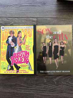 DVD - 1) Austin Powers & 2)Sex and the City (First Season)