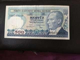 UNC 500 lira