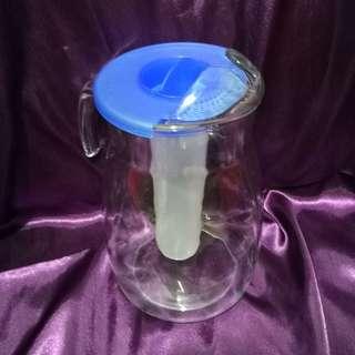 GLASS WATER JUG
