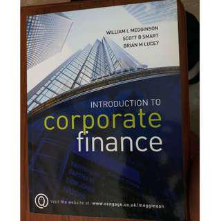 Introduction to Corporate Finance Textbook by Scott B. Smart and William L. Megginson