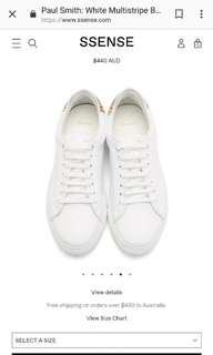 Paul Smith basso shoes white