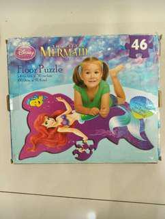 Mermaid's floor puzzle