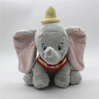🚚 迪士尼馬戲團小飛象丹波Dumbo大耳象毛绒玩具公仔娃娃生日禮物現貨
