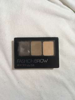 Maybelline Fashion Brow 3D Brow and Nose Contour Palette in Light Brown