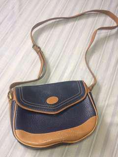 Liz Claiborne leather sling bag