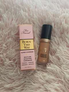 NEW too faced born this way super coverage concealer SAND