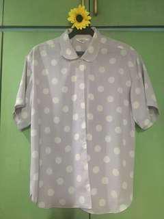 Polka blouse