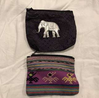 cute indie indian hippie style coin pouches purse