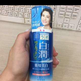 🚚 含運全新✨日本帶回❤️肌研白潤 玻尿酸保濕乳液 140ml