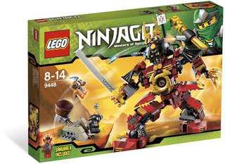 Lego 9448 Samurai Mech