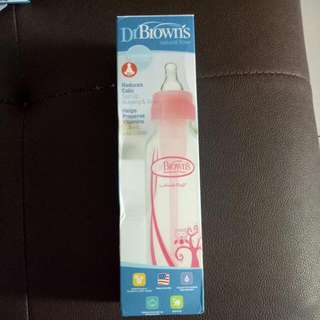 Botol Susu Dr. Brown's Pink