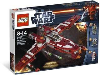 Lego 9497 Republic Strike-Class Starfighter