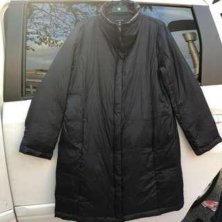 Black Winter Jacket / Winter Coat