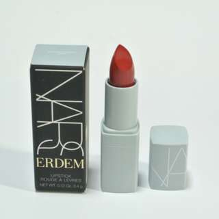 (包郵)NARS ERDEM Lipstick #Bloodflower Bright cherry red 3.4g