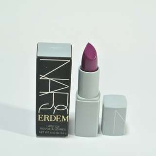 (包郵)NARS ERDEM Lipstick #Larkspur Sheer raspberry red 3.4g