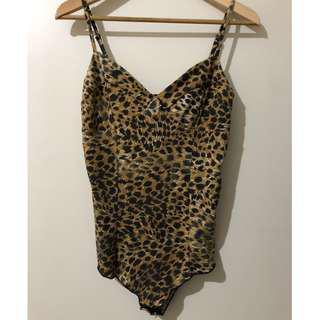 MINKPINK cheetah leotard